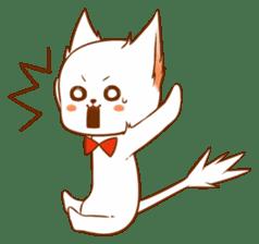 The sticker of a cat sticker #854618