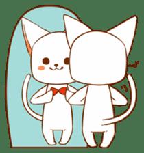 The sticker of a cat sticker #854619