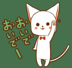 The sticker of a cat sticker #854621