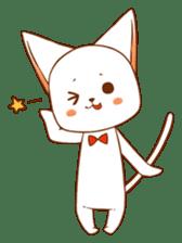 The sticker of a cat sticker #854624