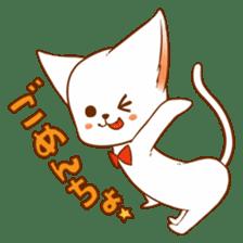 The sticker of a cat sticker #854630