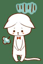 The sticker of a cat sticker #854631