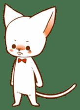 The sticker of a cat sticker #854632