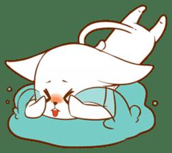 The sticker of a cat sticker #854633