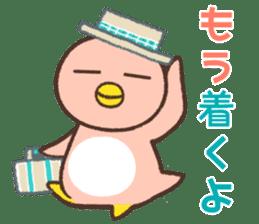 Penguin family sticker #854669