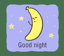 banana's feelings (simple English) sticker #854792