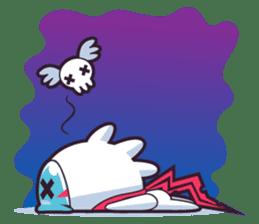 Luko - The Germ Sweeper sticker #855522