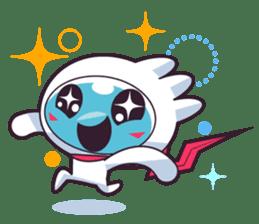 Luko - The Germ Sweeper sticker #855524