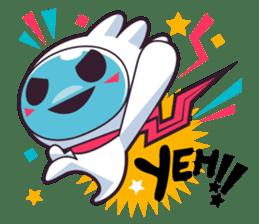 Luko - The Germ Sweeper sticker #855525