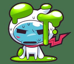 Luko - The Germ Sweeper sticker #855533