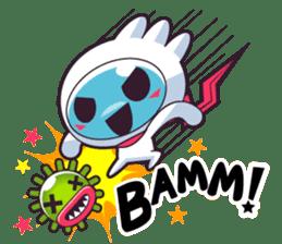 Luko - The Germ Sweeper sticker #855534