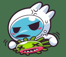 Luko - The Germ Sweeper sticker #855542