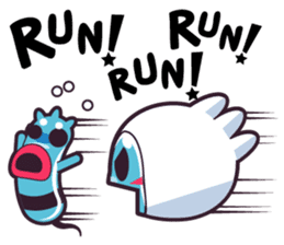 Luko - The Germ Sweeper sticker #855545