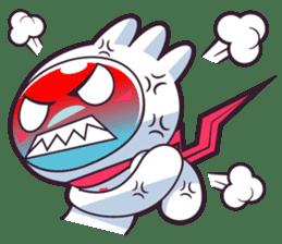 Luko - The Germ Sweeper sticker #855556