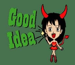 Devil & Angel sticker #855923