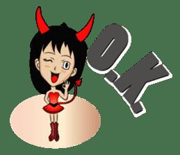 Devil & Angel sticker #855929