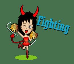 Devil & Angel sticker #855936