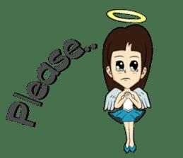 Devil & Angel sticker #855945