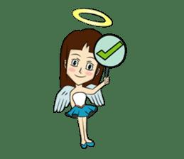 Devil & Angel sticker #855951