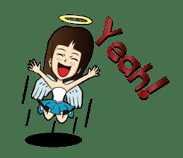 Devil & Angel sticker #855955