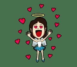Devil & Angel sticker #855956