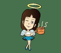 Devil & Angel sticker #855958