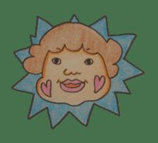 mama  so  cute sticker #856883