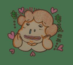 mama  so  cute sticker #856891