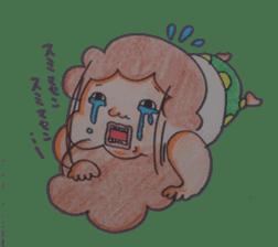 mama  so  cute sticker #856894
