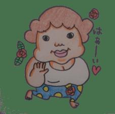 mama  so  cute sticker #856897