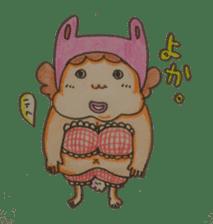mama  so  cute sticker #856900