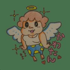 mama  so  cute sticker #856903