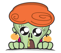 Daisy The Zombie sticker #857291