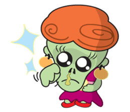 Daisy The Zombie sticker #857302