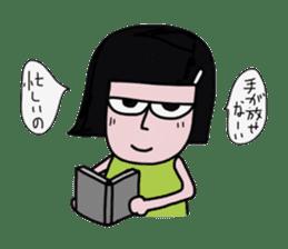 Little girl in cool sticker #858570