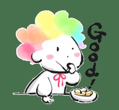 Rainbow kid sticker #860119