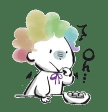 Rainbow kid sticker #860120