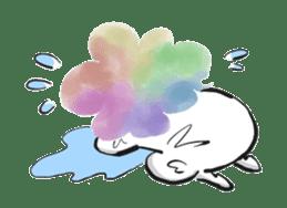 Rainbow kid sticker #860125
