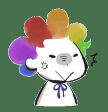 Rainbow kid sticker #860127
