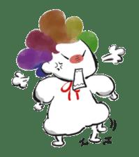 Rainbow kid sticker #860128