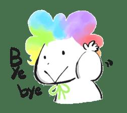 Rainbow kid sticker #860135