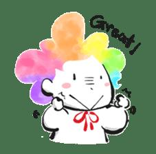 Rainbow kid sticker #860140
