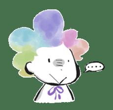Rainbow kid sticker #860141