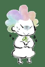 Rainbow kid sticker #860142