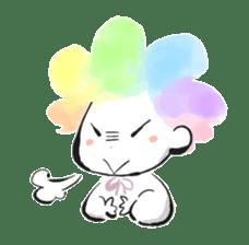 Rainbow kid sticker #860144