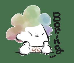 Rainbow kid sticker #860145