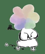 Rainbow kid sticker #860146