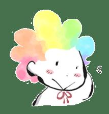 Rainbow kid sticker #860147