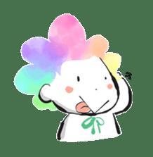 Rainbow kid sticker #860148