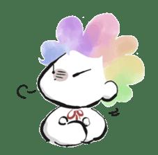 Rainbow kid sticker #860149